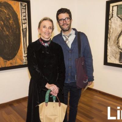 Carmen Descovi y Charles Miro Quesada.