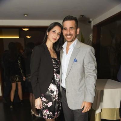 Carolina Casanova y Tarek Martínez.
