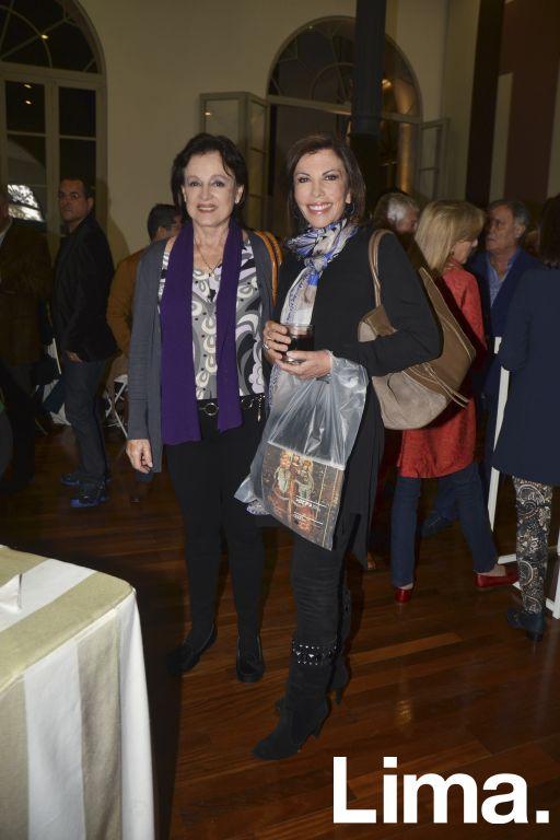 Cecilia Fernandini y Melissa León de Peralta.