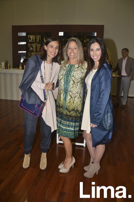 Cecilia Pardo, Pilar Quesada y Geraldine Nuñez.