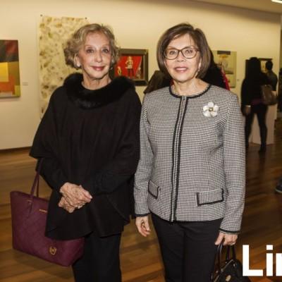 Delia Lockett y Vicky Majluf.