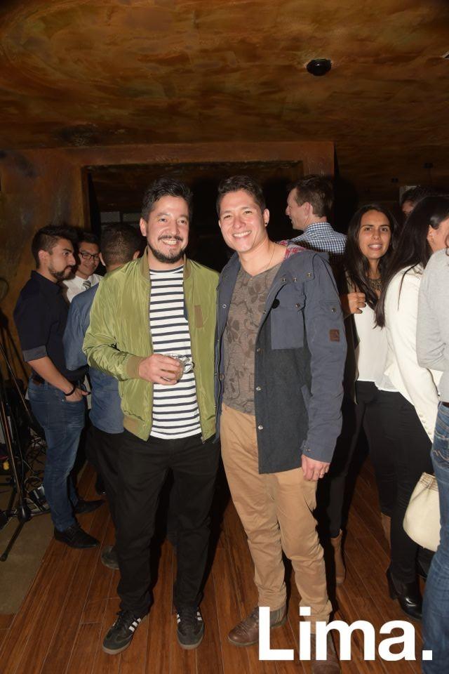 Emilio Masías y Palmiro Ocampo.