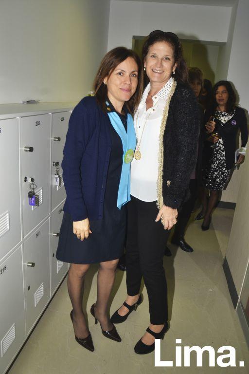 Fabiola Delgado y Liliana Picasso.
