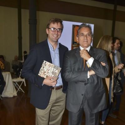 Flavio Calda y Armando Andrade.