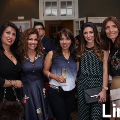 Gaby Arguedasm Rochi Kahn, Sofía Godoy, Ana Lucía Villavicencio y Vezna Nadramia