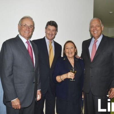 Gustavo Arróspide , Jorge Milberg, Martha Gonzales y Álvaro Carulla.