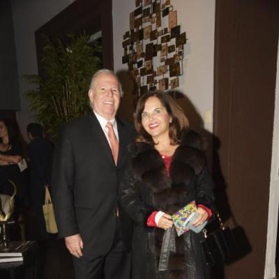 Helmut y Pilar Deza.