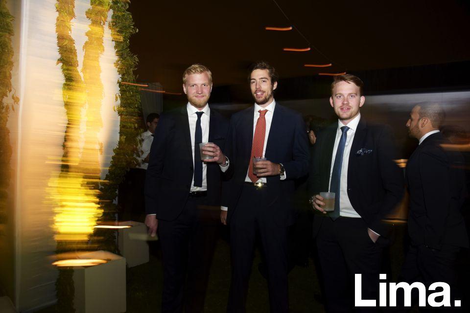 Henrik Ebenhag, Greg Gilardini y Víctor Dyrnes.