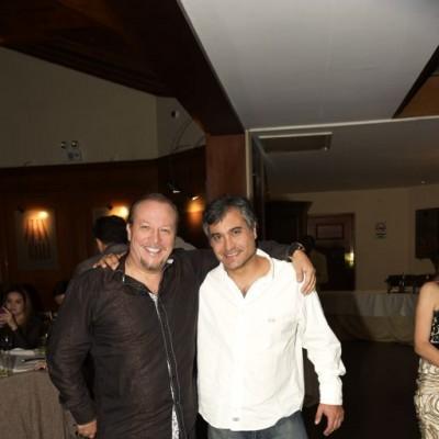 Javier Contreras y Miguel Silva.