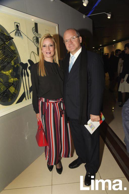 Jessica Ward y Manolo Pérez.