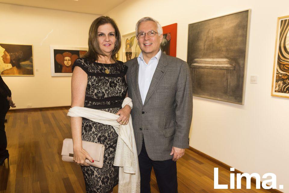 Jessy Stewart y Marcelo Bazan.