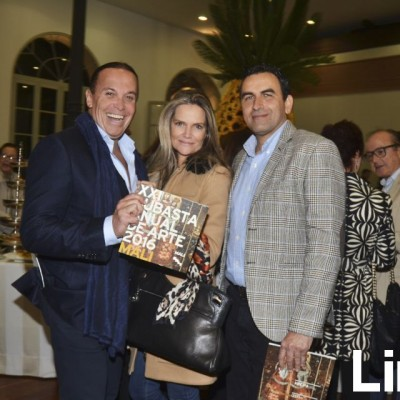 Johnny Brignardello, Jenifer Hougthon y Carlos Cabieses.