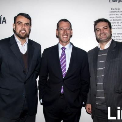 Jorge Belarde, Juan Carlos Escudero y Jean Pierre Nava.