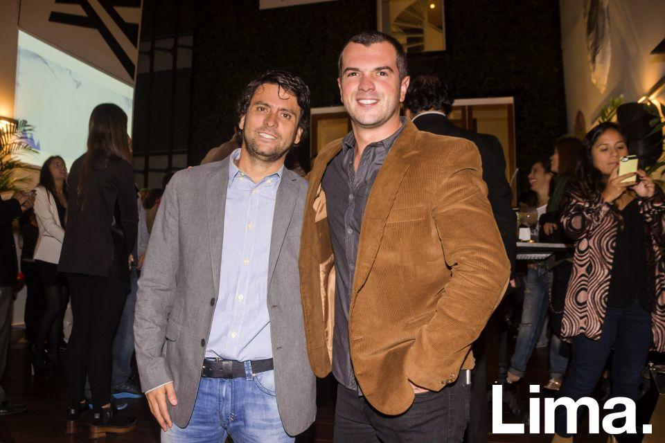 José Marquez y Paco Queirolo.