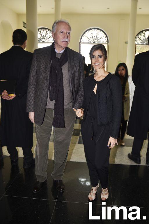 Jose Cánepa y Ximena Lorca.