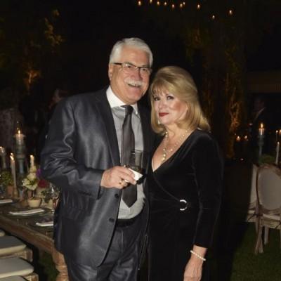 Julio Almendariz y Anita Rocha.