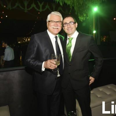 Julio Almendariz y Javier de la Viuda