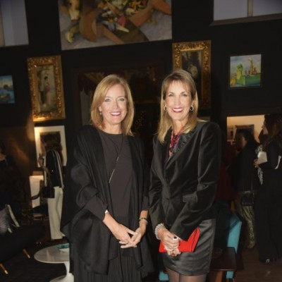 Karin Morris y Beatrice Ciabatti.