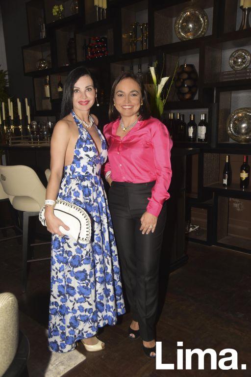Katerina Zakharova y Adriana Hoyos.