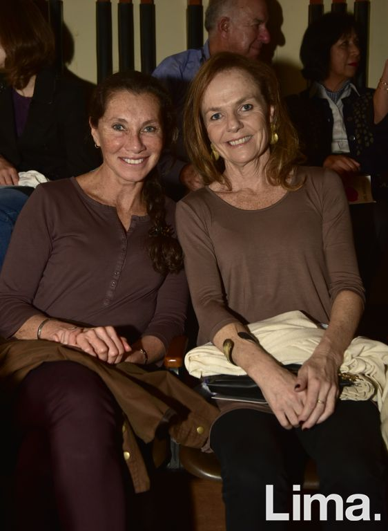 Carol Caillaux y Bronwen Griffith.