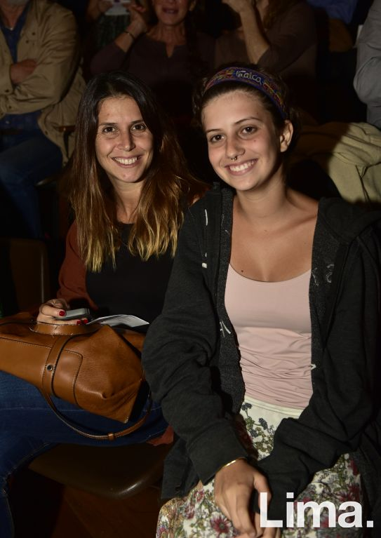 Annelise Ruibal y Rafaella Mey.