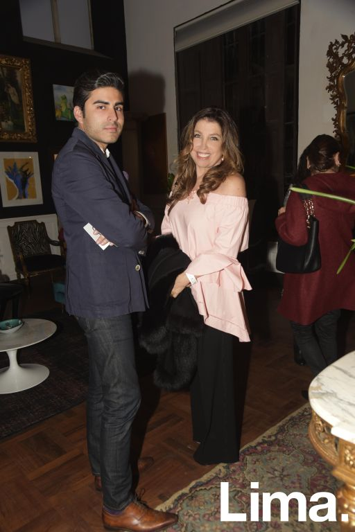Luis Bogdanovich y Amalia Napadenschi.