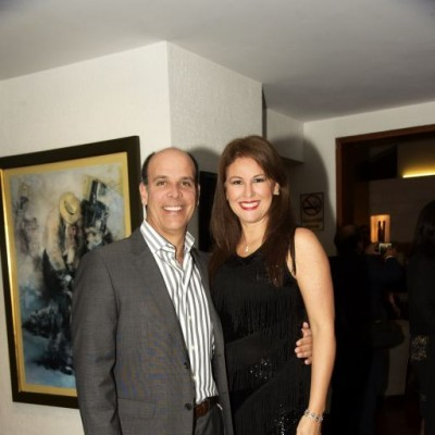 Luis Miguel Delgado y Jacqueline Hoyle.