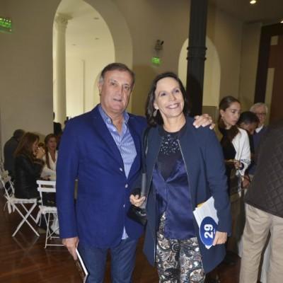 Luis Razetto y Lucía de la Puente.
