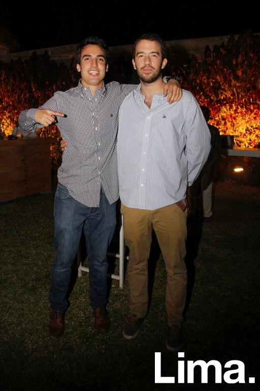 Manuel Bryce y Diego Buendía.