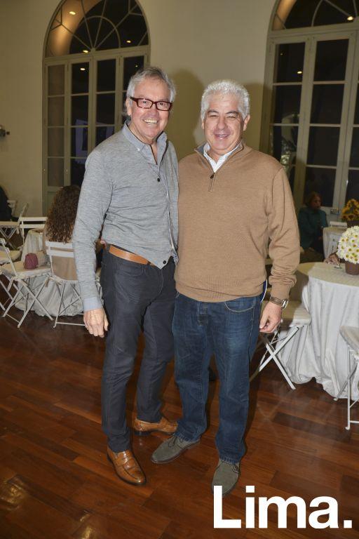 Marco Testino y Felipe Ossio.