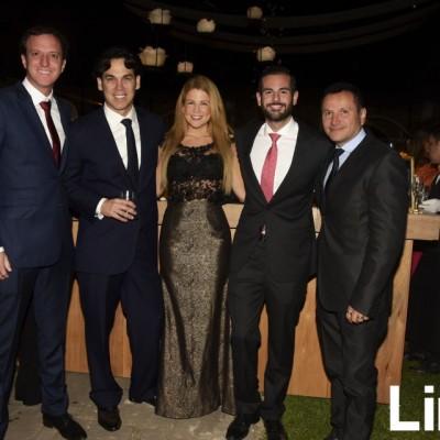 Mario Dell, Fernando Rodríguez, Daniela Bazán, Alan García y Gennaro Annaclerio.