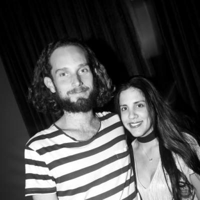 Mateo Cabrera y Adriana Araujo en Jazz Nights de La Trattoria di Mambrino, San Isidro.