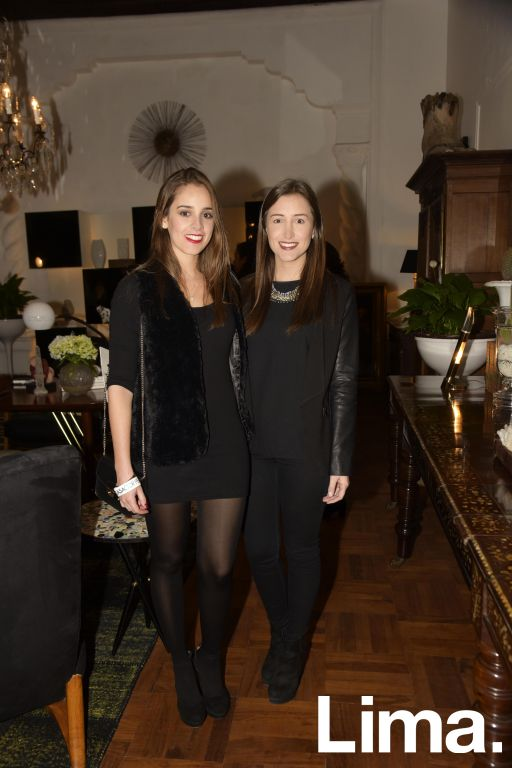 Matilde Mannucci y Aileen Barber.