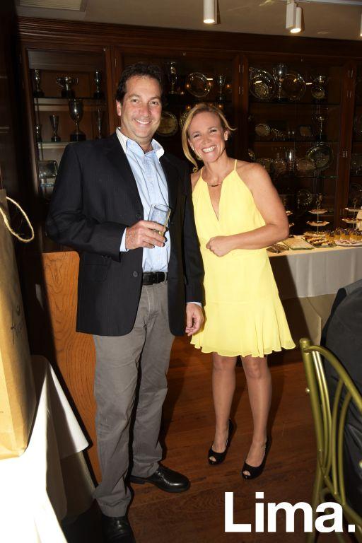 Max Leigh y Silvia La Rosa.