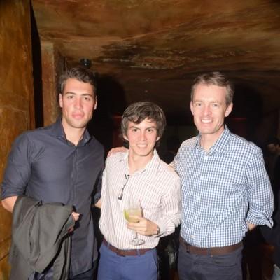 Michael McGuire,Luis Saco y Nicholas McCaffrey.