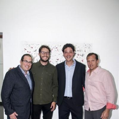 Miguel Atala, Ricardo Lamartine, Alejandro Gasquez y Aldo Federici.