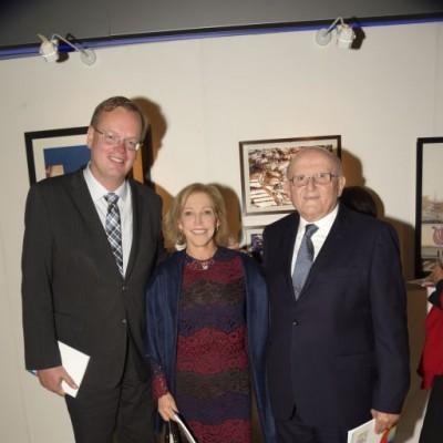 Mika Koskinen, Clara Rodinger y JosCé Rodinger.