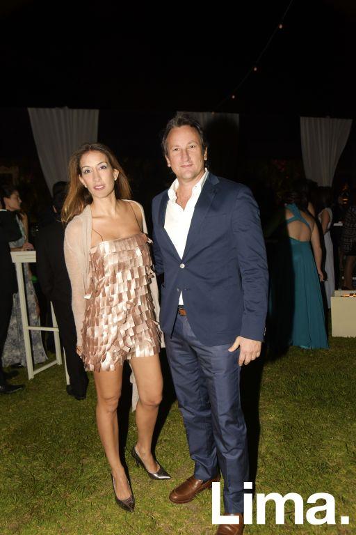 Natalia Hidalgo y Mario Campadónico.