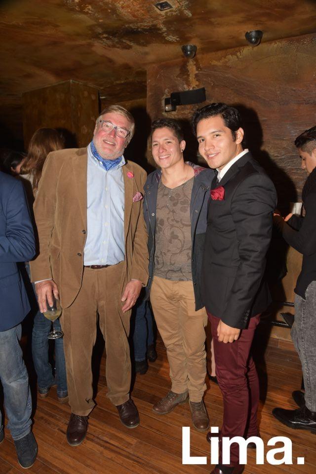 Nicolas Keskemethy, Palmiro Ocampo y Favio Jurado.
