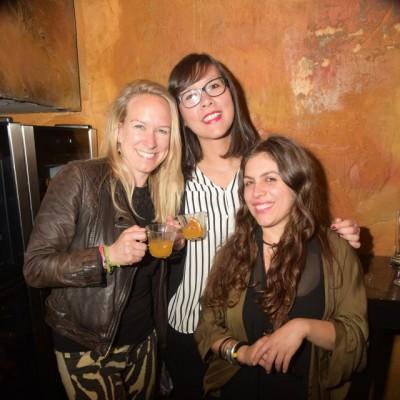 Nina Schroeder, Sandra Hittmeyer y Lucrecia Bellido.
