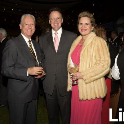 Pablo de la Flor, Mariano Paz Soldán y Úrsula Clarke.