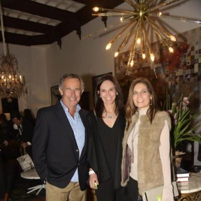 Rafael Llosa, Maria Luz Espinoza y Verónica Ugarte.