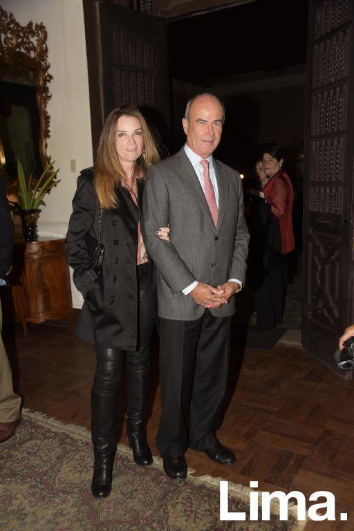 Silvana Pestana y Alfredo Barreda.