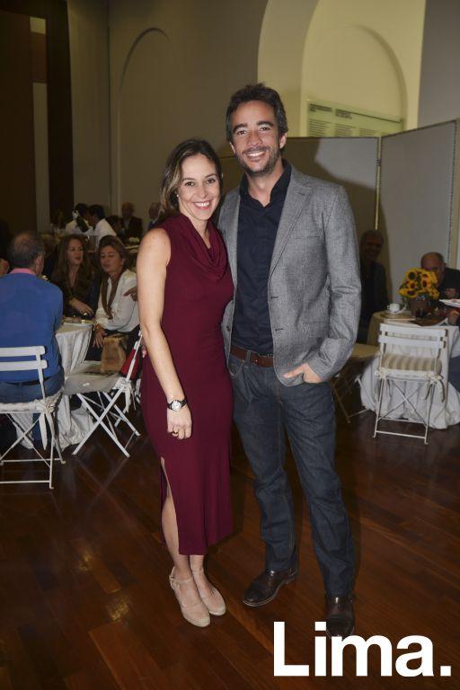 Silvia Helden y Mariano Agramunt.