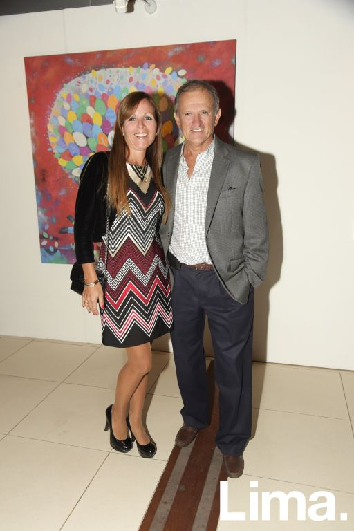 Sonia Echeandía y Alex Pastor.