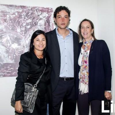 Tanya Trahtemberg, Alejandro Gasquez y Sonia Pinto.