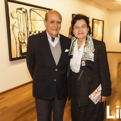 Víctor y Rosa Benavides.