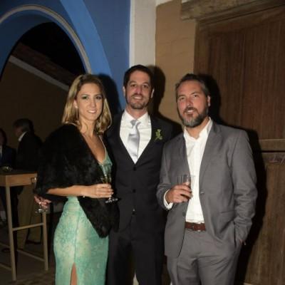 Valeria Madueño, Diego Portocarrero y Giorgio Giampietri.