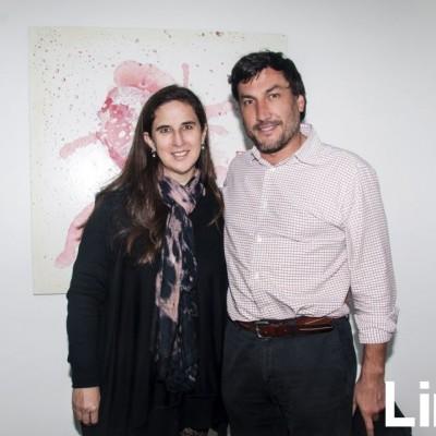 Verónica Cooper y Héctor Gallegos.