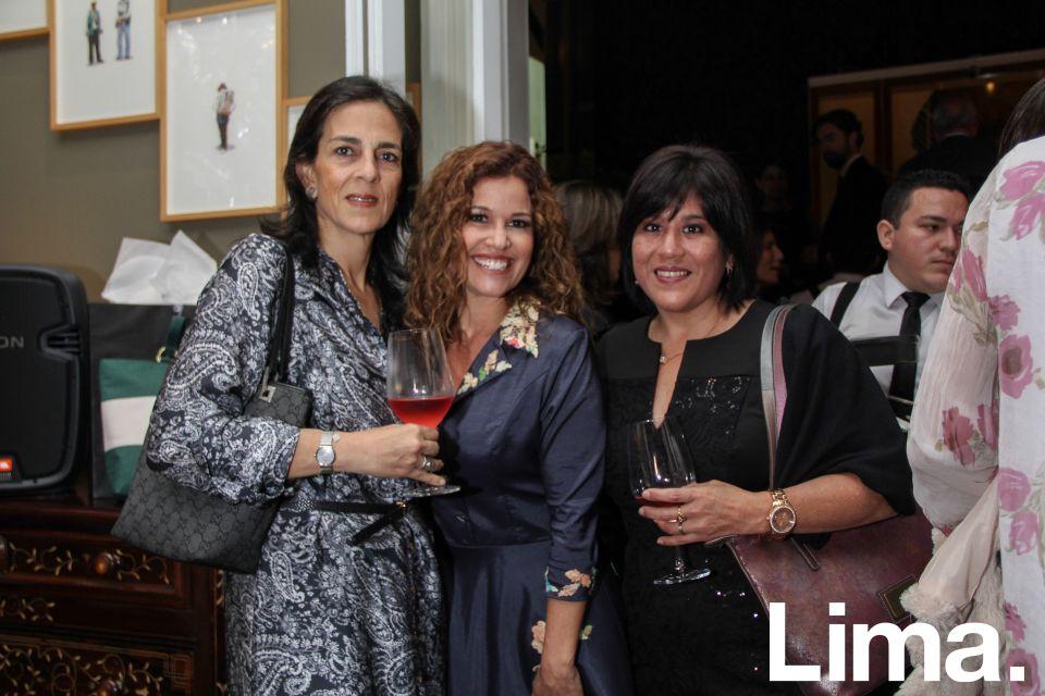 Viviana Salem, Rochi Kahn y Claudia Pereyra.